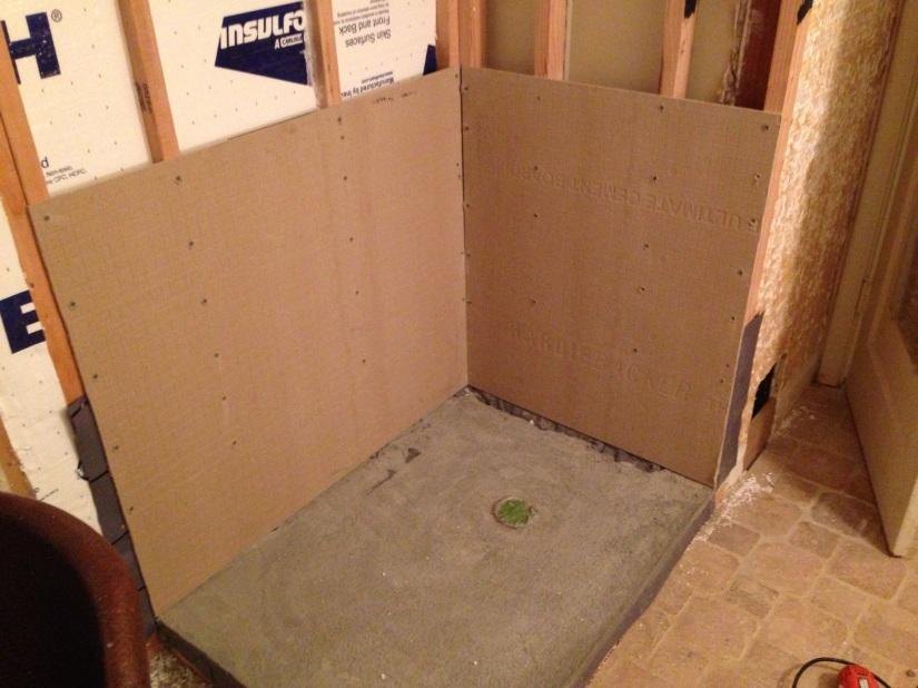 Styrofoam Shower Pan