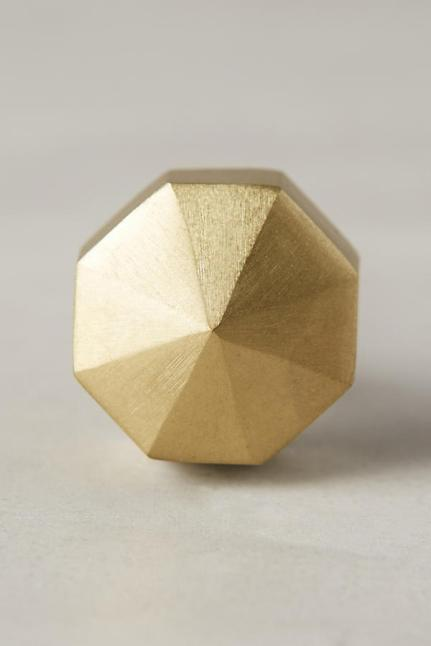 Anthropologie - Faceted Ory Knob $10.00