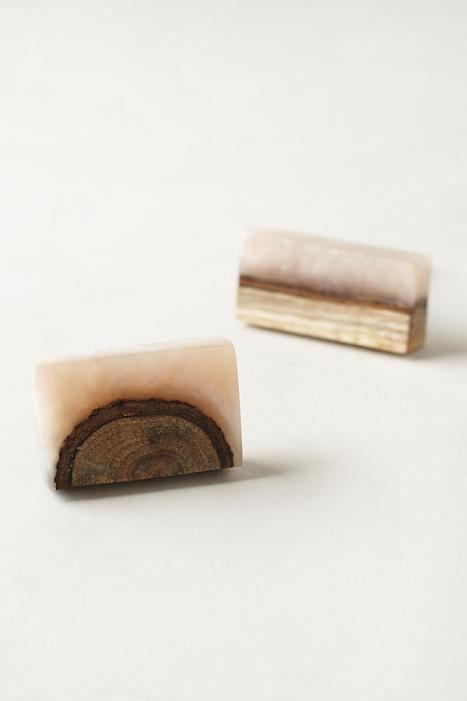 Anthropologie - Frosted Timber Knob $10.00