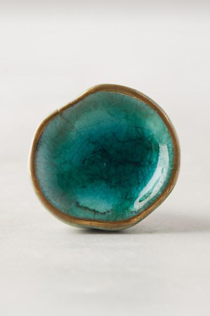 Anthropologie - Ocean Crater Knob $10.00