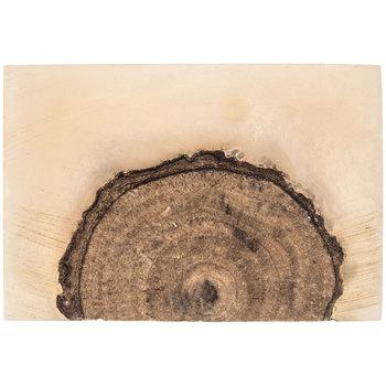 Hobby Lobby - Pearl & Brown Resin & Wood Knob $3.00