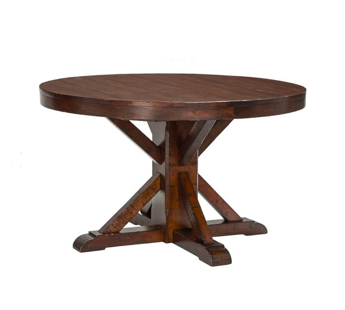 Benchwright Fixed Dining Table: Benchwright-fixed-pedestal-dining-table-o
